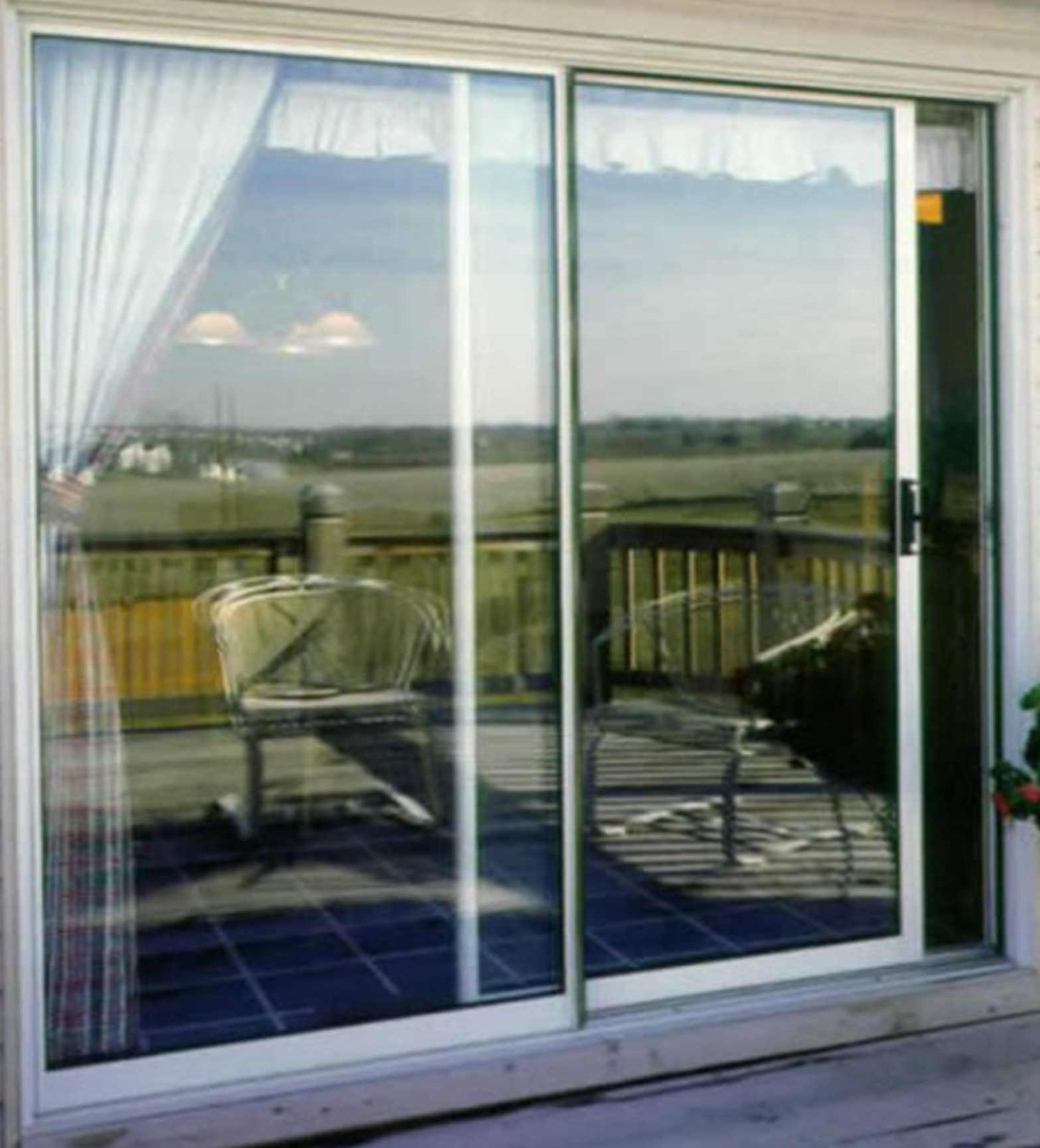 Aluminum double doors exterior latest design ideas for Sliding door with glass