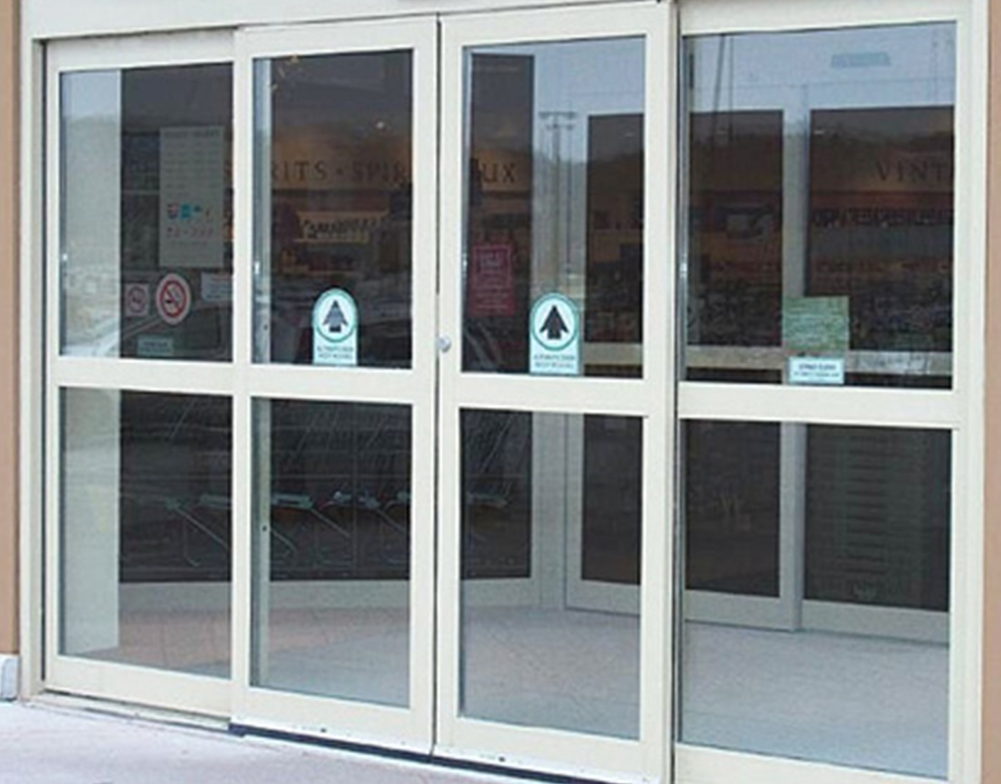 Commercial Sliding Glass Doors 1450 x 1136